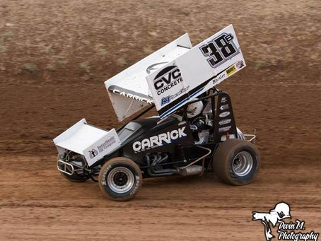 Blake Carrick 2nd at Placerville Speedway