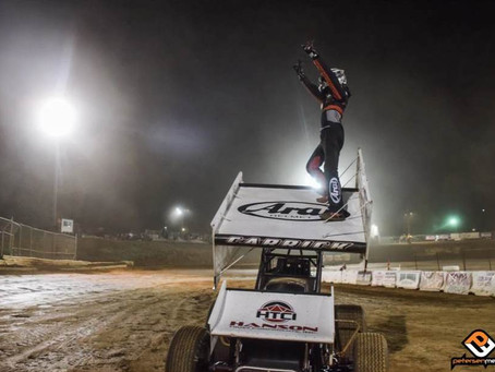 Tanner Carrick Dominant in Third Consecutive Win at Placerville Speedway