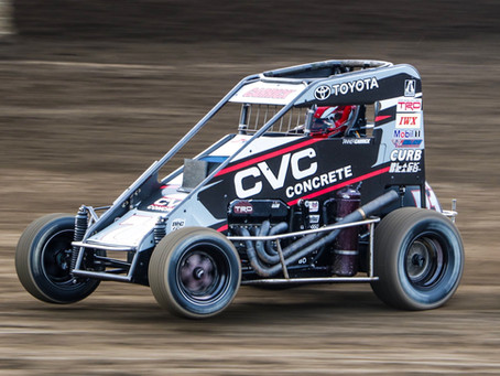 Tanner Carrick Seventh with POWRi Series at I-55 Raceway
