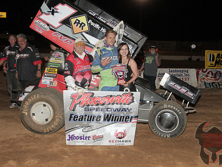 Andy Forsberg claims Placerville Speedway win 61 on Saturday
