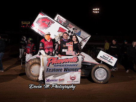 Justin Sanders Claims Placerville Opener