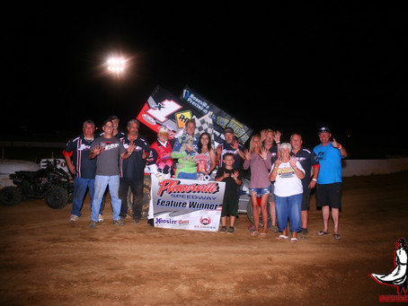 Andy Forsberg tallies 56th career Placerville Speedway win on Saturday