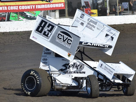 Carrick Scores Sixth Place Finish with SCCT