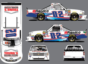 YOUNG'S MOTORSPORTS TAKES THREE TRUCKS NORTH OF THE BORDER FOR THE CHEVROLET SILVERADO 250