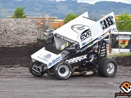 Blake Carrick Sixth with SCCT at Petaluma Speedway