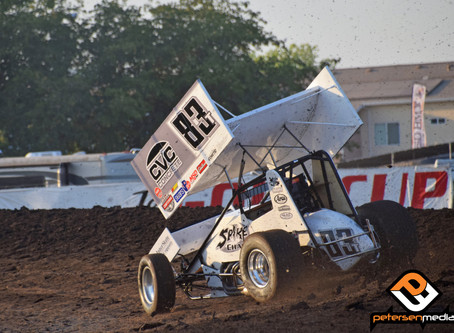 Carrick Has Busy Week with USAC and World of Outlaws