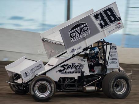 Blake Carrick Third in Marysville, CA