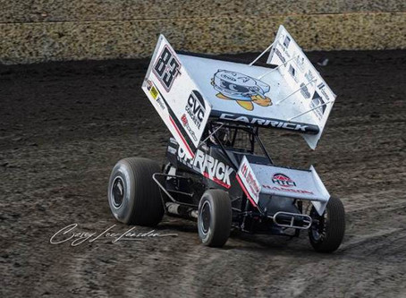 Busy Week of Travel Culminates with Third Place Finish for Tanner Carrick