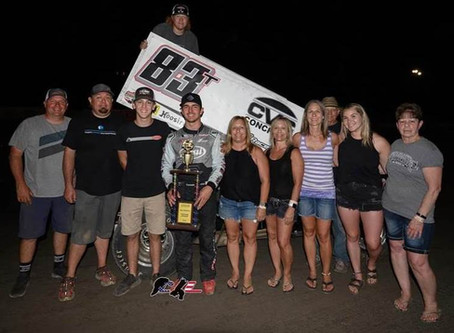 Tanner Carrick Picks Up Thrilling Win at Marysville Raceway