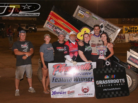 Becker wins a Tribute to Al Hinds thriller in Placerville