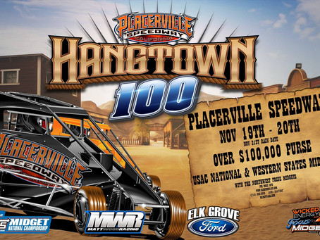 Elk Grove Ford Hangtown 100 announces purse increase for November 19th and 20th