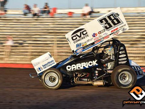 Late Contact at Fall Nationals Ends Blake Carrick's Night
