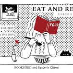 企画展示 EAT AND READ イラストイメージ