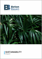 BETON BAUEN_Sustainability Policy_Cover_