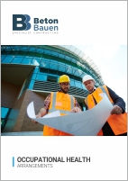 BETON BAUEN_Occupational Health_Cover_14