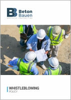 BETON BAUEN_Whistleblowing Policy_Cover_