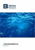 BETON BAUEN_Environmental Policy_Cover_1