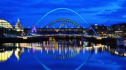 Gateshead Millennium Bridge, England