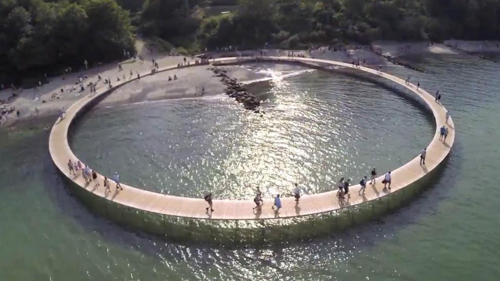 'Infinite Bridge,' Denmark'