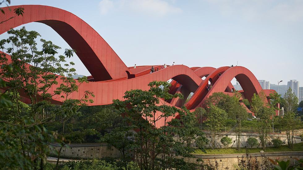 Lucky Knot Bridge, Changsha, China