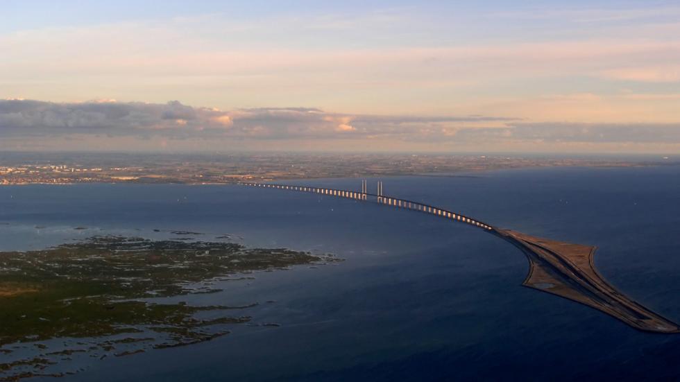 Øresund Bridge, Sweden and Denmark
