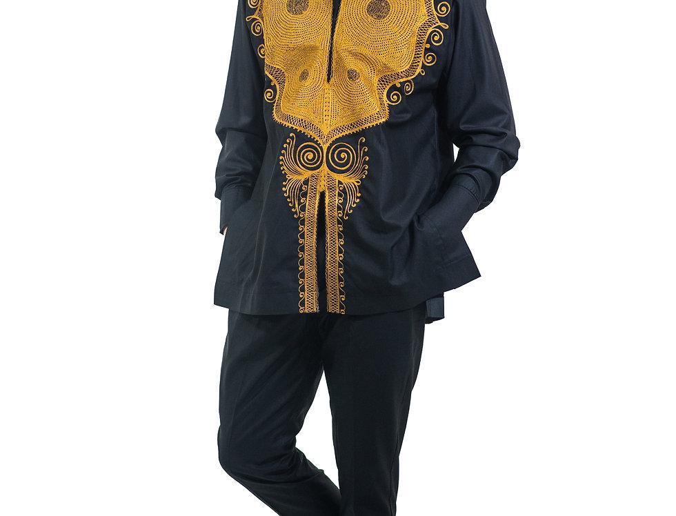 Costume de Sénateur Noir