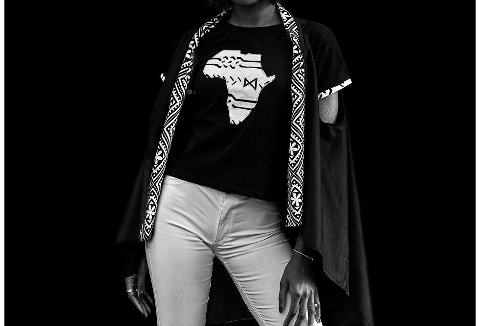 T-shirt carte d'Afrique