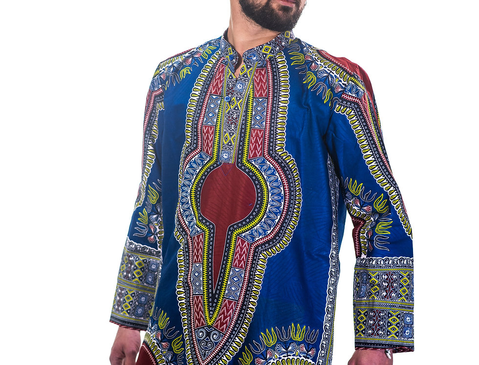 Tunique Doublée Yamado (Dashiki)