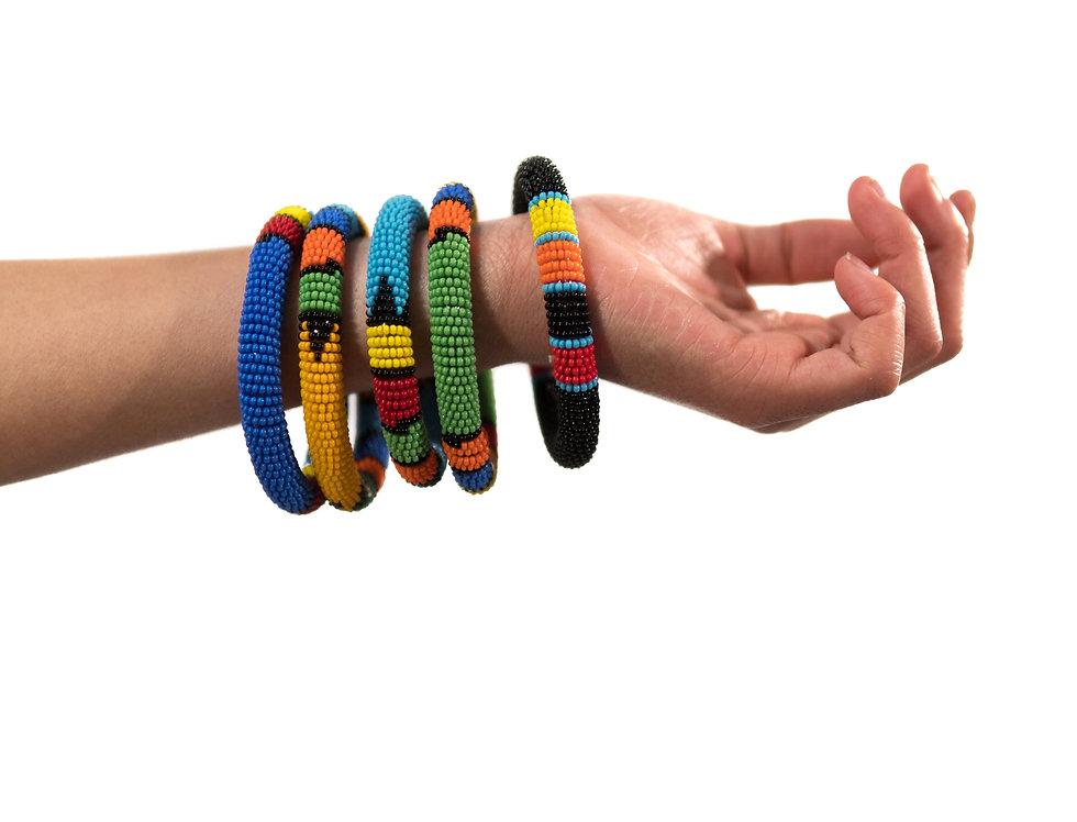 Bracelets Fin Dur Perlé