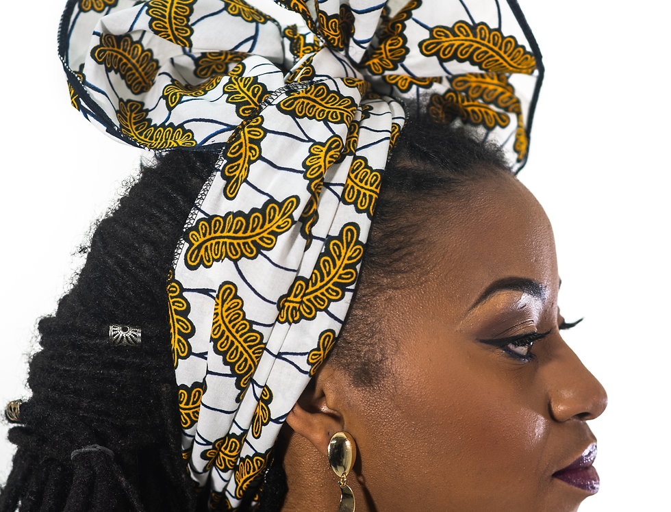 Foulard african