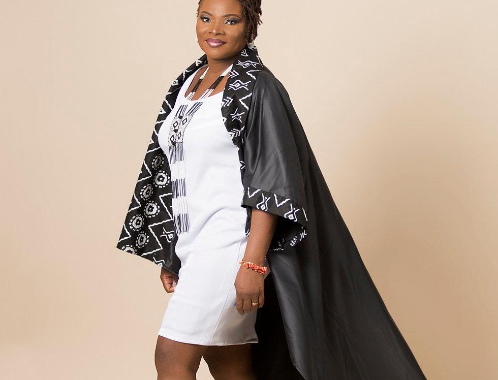 Kimono satin de duchesse unisexe
