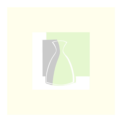 Gemma's Little Pot (White line)