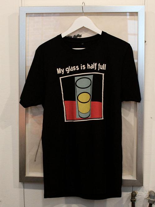 Black Optimistic T shirt