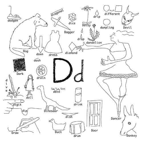 Alphabet of Things D