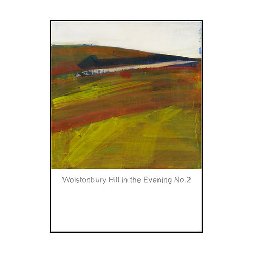 Wolstonbury Hill in Evening No. 2 Postcard
