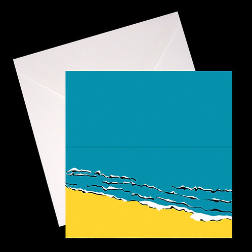 Sea GREETINGS CARD