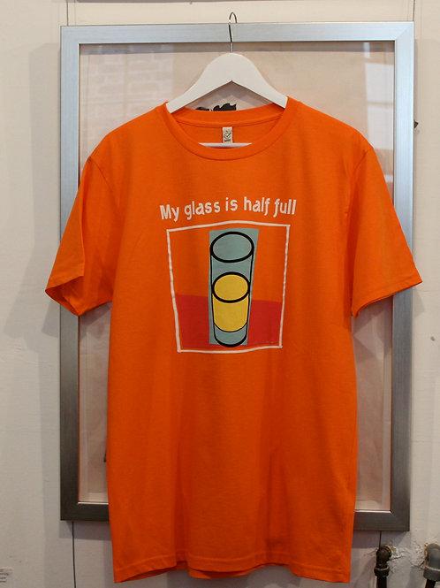 Orange Optimistic T shirt