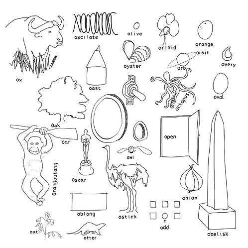 Alphabet of Things O