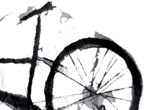 Bike Fragment  B/W