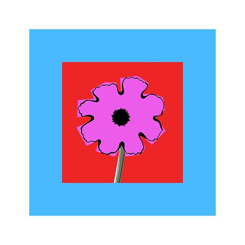 Mauve Flowerhead
