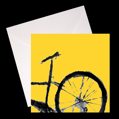Bike GREETINGS CARD