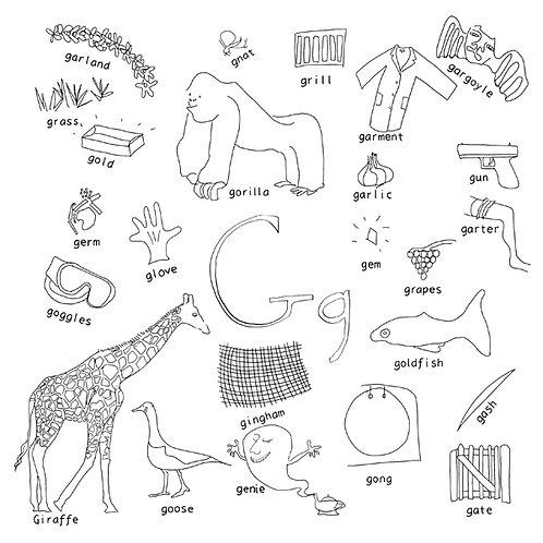 Alphabet of Things G