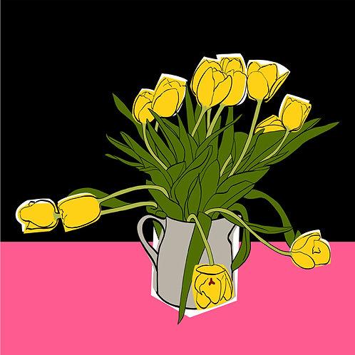 Yellow Easter Tulips