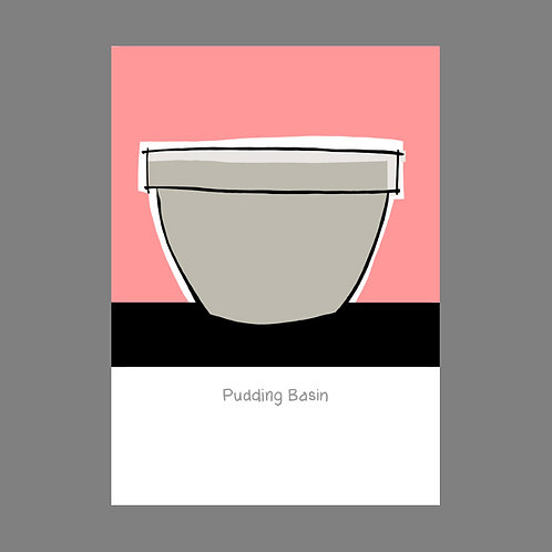 Pudding Basin POSTCARD