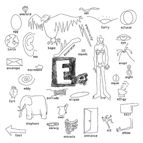 Alphabet of Things E