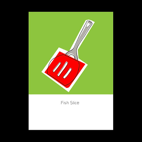 Fish Slice POSTCARD