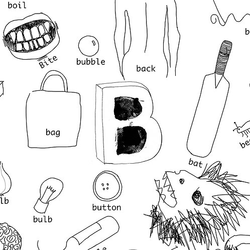 Alphabet of Things B