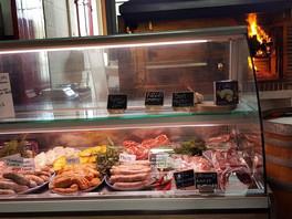 Meat & Sausage Display