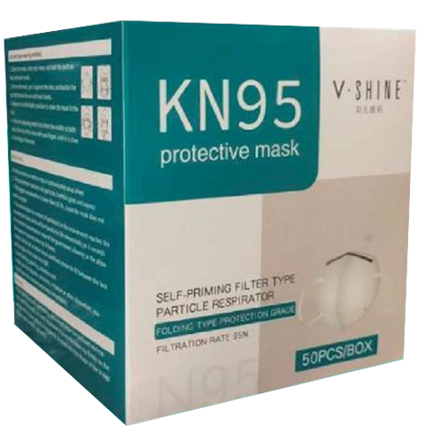MASCARILLA PROTECTORA KN95 V-SHINE