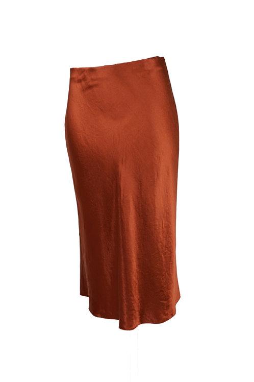 Vince Rust Skirt
